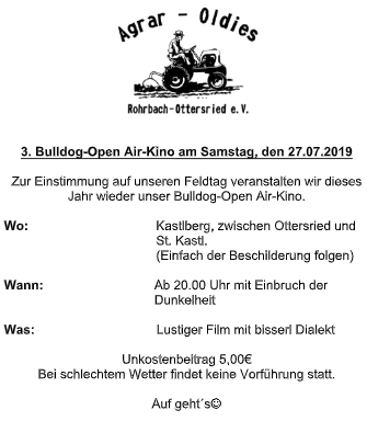 3. Bulldog-Open Air-Kino